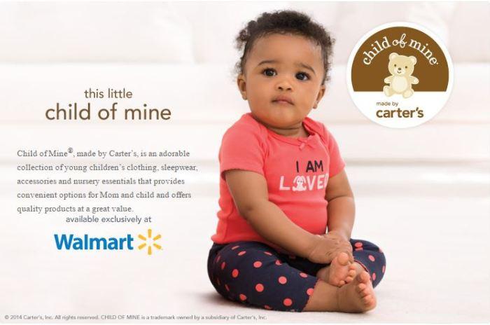 Carters para Walmart