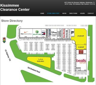 Mapa Kissimmee Clearance Center