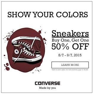 CONVERSE CUPOn sept
