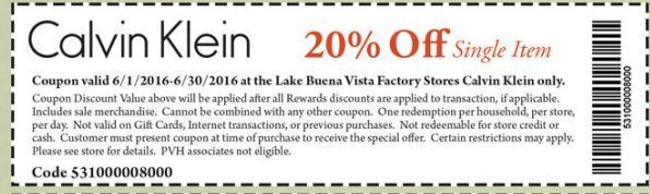 The Lake Buena Vista Factory Store ® – Precios de outlet y
