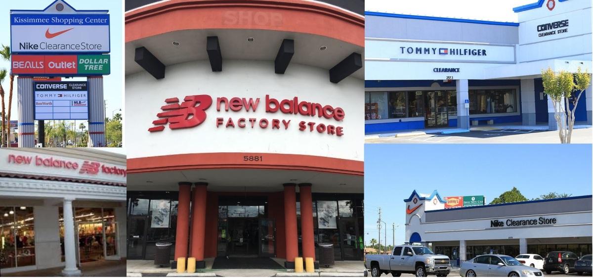 New Balance ®, Nike ® y Converse ® -Outlets, Clearance y Factory Store de las mejores tiendas deportivas-