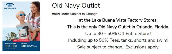 Memorial Day Old Navy LBVFS 7