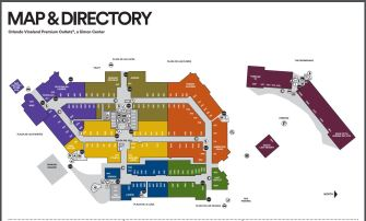 orlando international vineland outlets Mapa