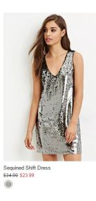 Forevere21 Vestido de fiesta x menos de 30 dólares2