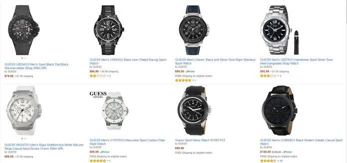Reloj Guess Amazon