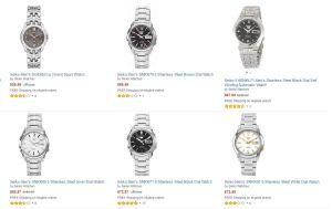 Reloj Seiko Amazon