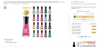 Sally Hansen Amazon 2
