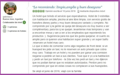 Fairfield Inn Marriot. Opiniones Viajeros 2