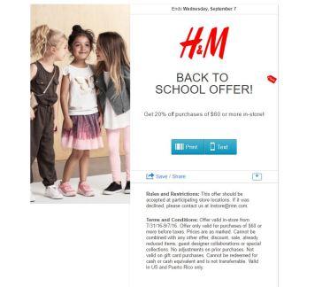 h&M septiembre 2016