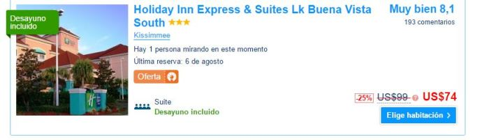 Holiday Inn Express & Suites Lk Buena Vista South precio.JPG