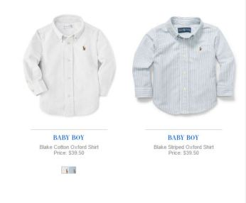 MUST HAVE BABY BOY POLO RALPH LAUREN
