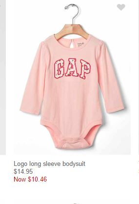 MUST HAVE BABY GAP GIRL 1