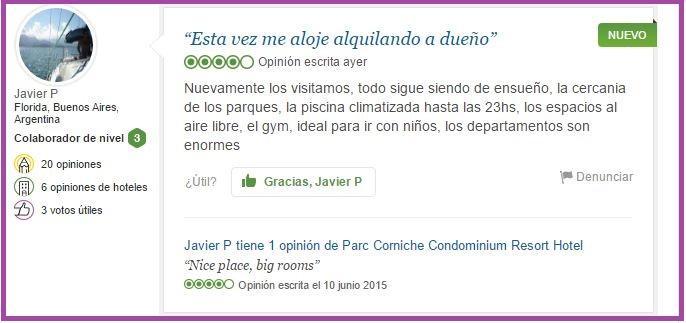 Parc Coniche Opiniones Viajeros