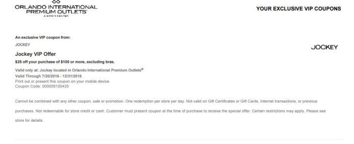 Orlando International Premium Outlet septiembre 2016 .7