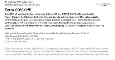 Orlando Vineland Premium Outlet septiembre 2016 .2