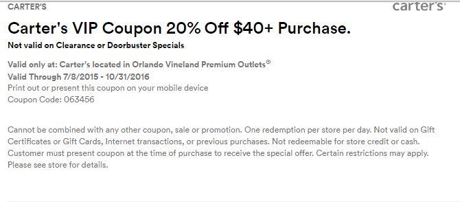 Orlando Vineland Premium Outlet septiembre 2016 .3