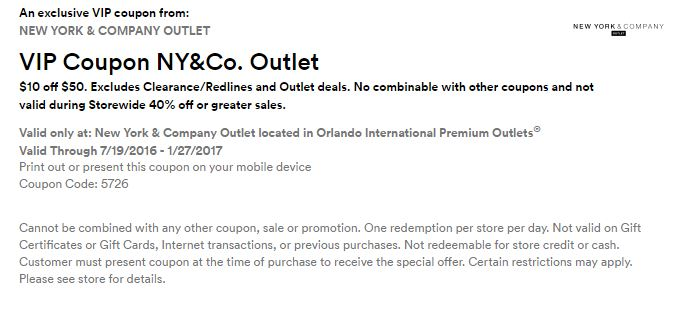 Premium outlet alberta discount coupons