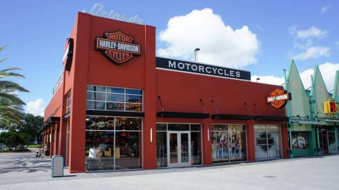 New Downtown Disney Harley-Davidson Store - July 2011.